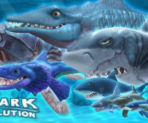 Hack Hungry Shark Evolution for money and crystals