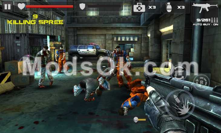 DEAD TARGET: ZOMBIE hack for money for Android