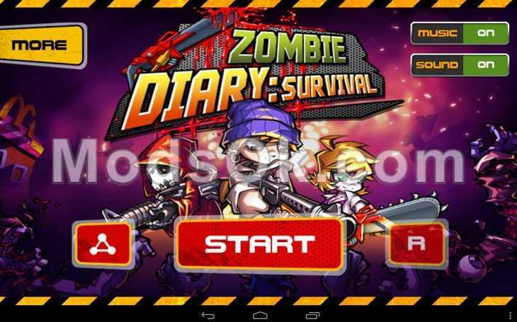 как заработать деньги в игре zombie diary
