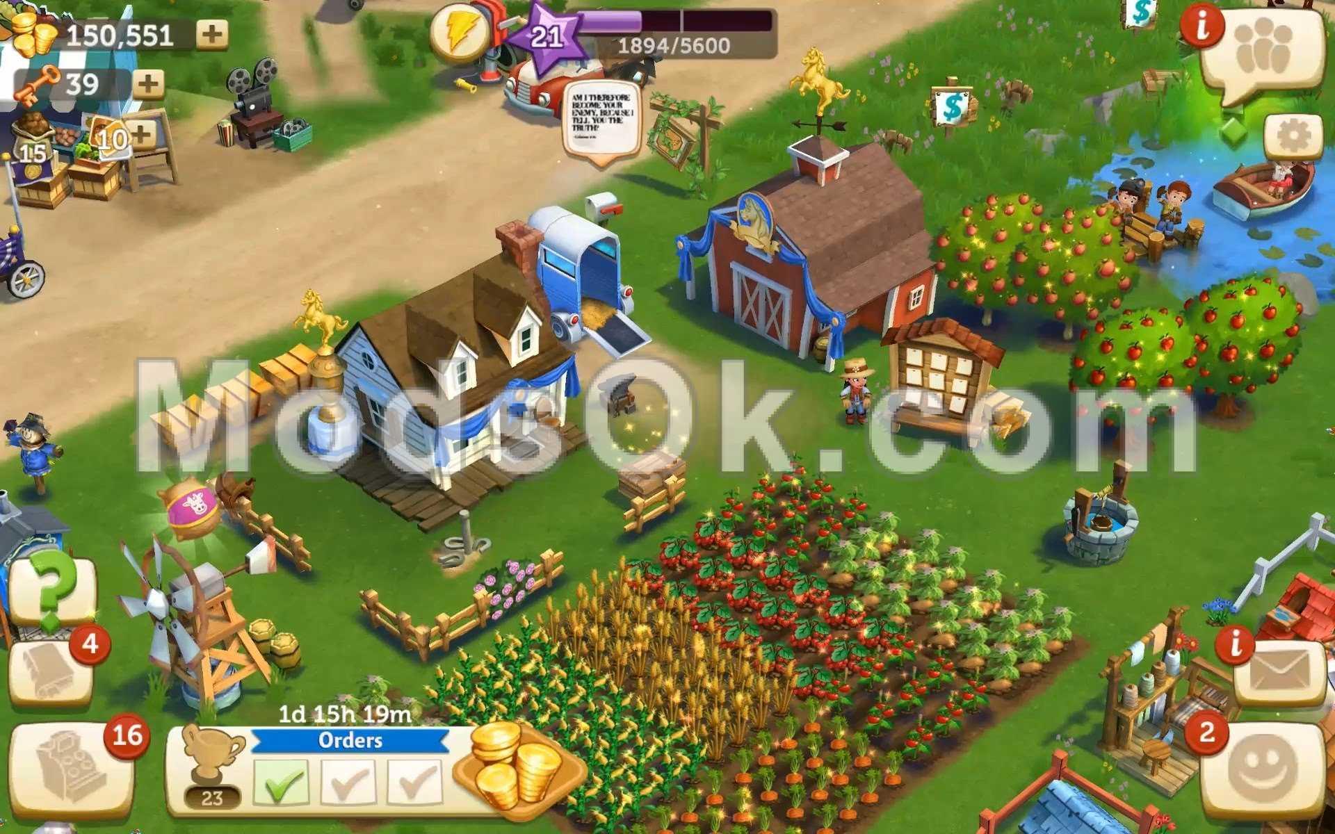 big little farmer mod apk 2018