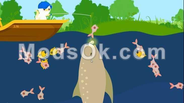 скачать игру cat fishing мод много денег