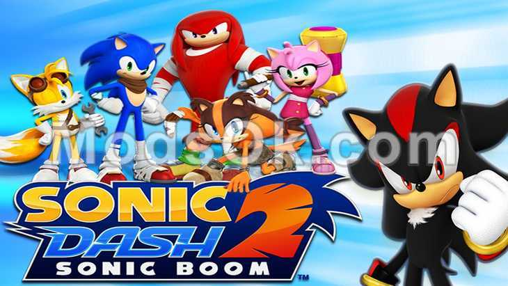 Sonic Dash 2: Sonic Boom hack for rings for Android
