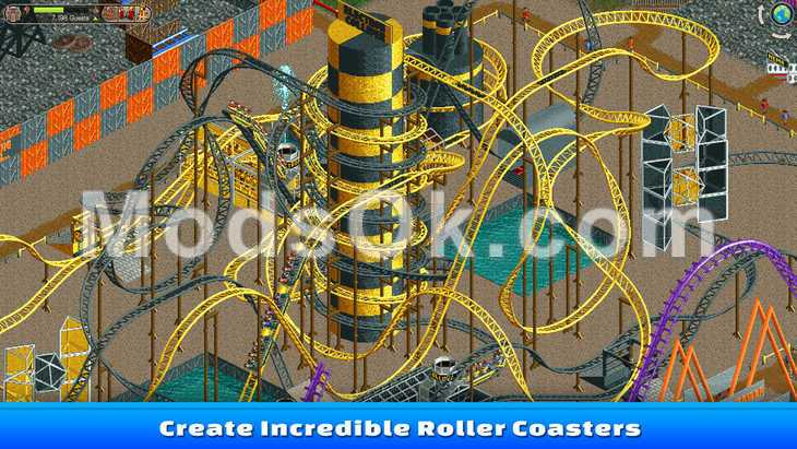 rollercoaster tycoon android mod apk