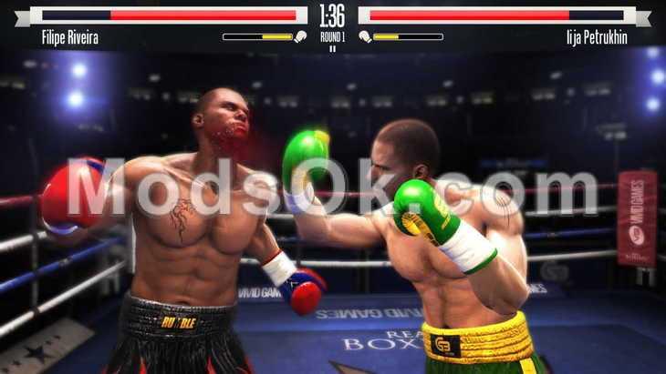 взлом на деньги для игры real boxing